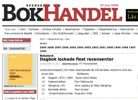 Från Svensk Bokhandel