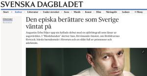 Ur Svd: Augustin Erbas Blodsbunden recenseras